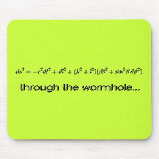Through the Wormhole Products Mousepads