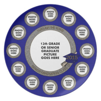 Through the Years Graduation Plate