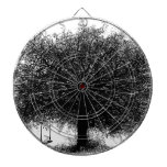 Through the Years Ink Illustration Dart Boards