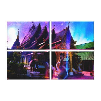 Through Time and Space Canvas Print