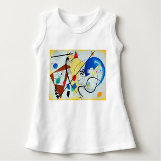 Throughgoing Line by Wassily Kandinsky Infant Dress