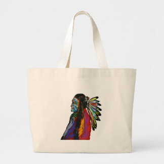 THROUGHOUT THE YEARS LARGE TOTE BAG