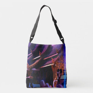 Throughout Time and Space Crossbody Bag