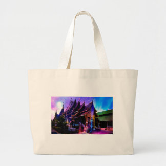 Throughout Time and Space Large Tote Bag