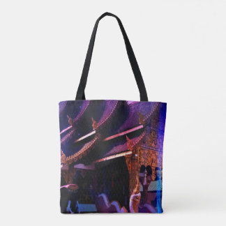 Throughout Time and Space Tote Bag