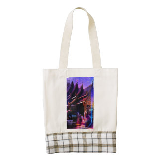 Throughout Time and Space Zazzle HEART Tote Bag