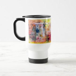 throughthedoors 15 oz stainless steel travel mug