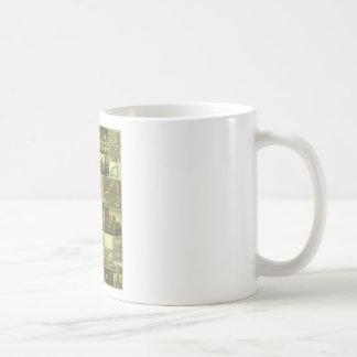 Throw Back City Classic White Coffee Mug