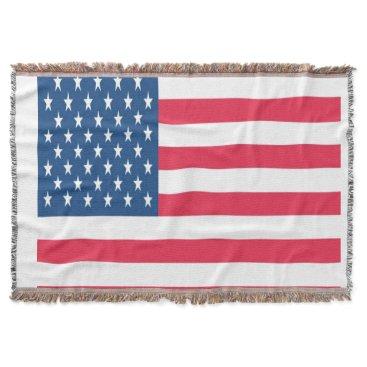USA Themed THROW BLANKET