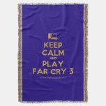 [Computer] keep calm and play far cry 3  Throw Blanket