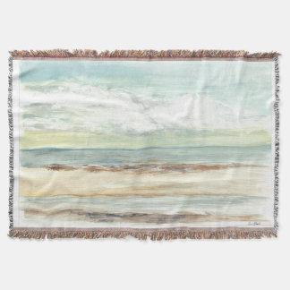 "Throw blanket ""Oceanview from Sandbar"""