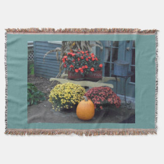 THROW BLANKETS- fall designs