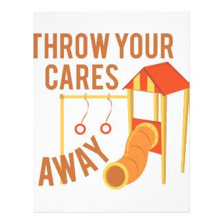 Throw Cares Away Letterhead