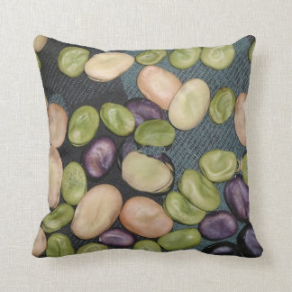 Throw Cushion with Broad Beans Pillows