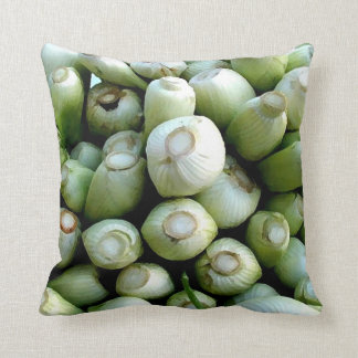 Throw Cushion with Green Vegetables Pillows