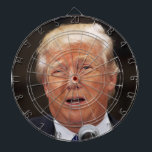 "Throw darts at Donald Trump Dartboard<br><div class=""desc"">Do you want to throw sharp objects at Donald Trump? Well now is your chance!</div>"