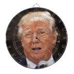 Throw darts at Donald Trump Dartboard<br><div class='desc'>Do you want to throw sharp objects at Donald Trump? Well now is your chance!</div>