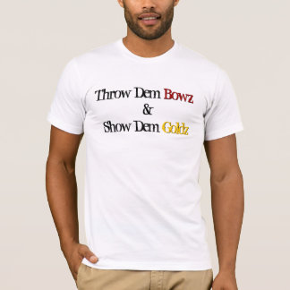 throw dem bowz tee