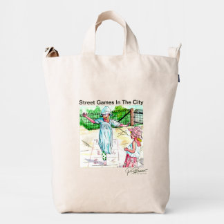 Throw Everything In This Catch-All Tote, Ready Set Duck Bag