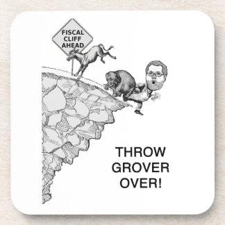 Throw Grover Coasters