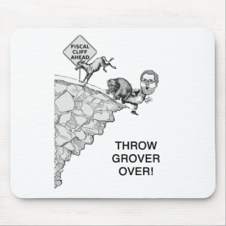 Throw Grover Over Mouse Pad