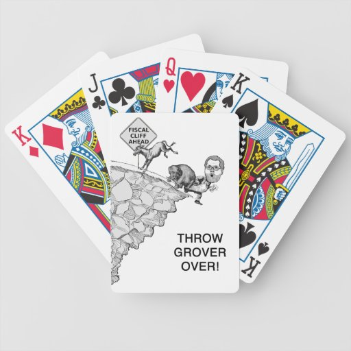 Throw Grover Playing Cards