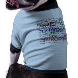 Throw it! pet tshirt