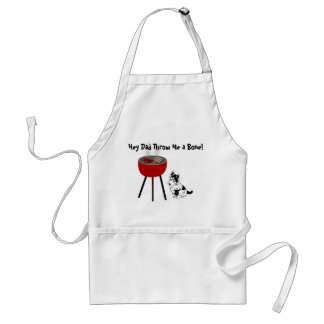 Throw Me A Bone Dog Lover's BBQ Apron