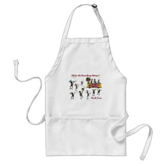 Throw me something Mister! Adult Apron