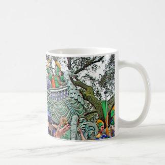 Throw Me Something Mister!  Mardi Gras Parade Coffee Mug