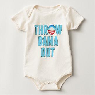 Throw (O)Bama Out Baby Bodysuit