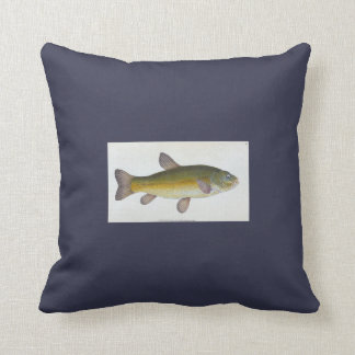 Throw Pillow - Fish 1 of 2 Navy