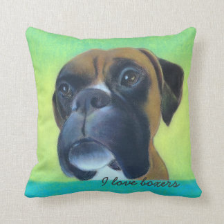 Throw Pillow for Boxer Lovers