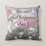 Throw Pillow For Daughter's Room