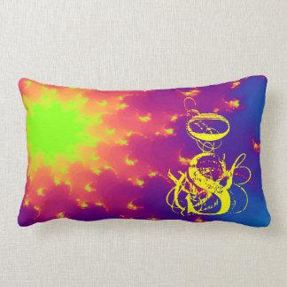 Throw Pillow Fractal Sunburst Super Nova