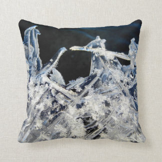 Throw Pillow Ice Design