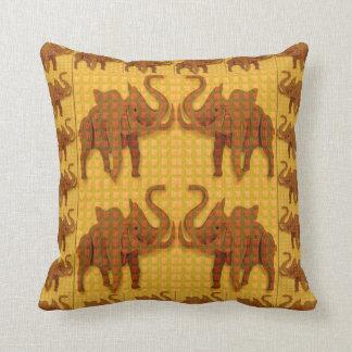 Throw Pillow KIDS love animals elephant fun zoo
