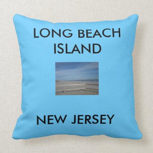 throw pillow, LBI throw pillow,Long Beach Island Throw Pillow Zazzle