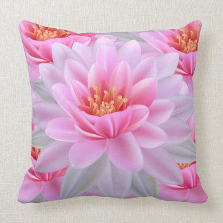 Throw Pillow -Lovely Pink flowery decorations