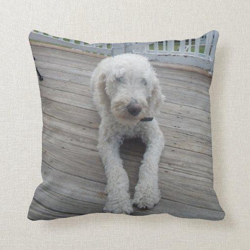 Throw Pillow My Pet Dog Zazzle