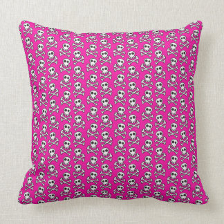 Throw Pillow/Skulls and Crossbones Throw Pillow