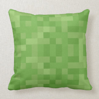 """Throw Pillow Square turn """"Turn Grass&Earth"""""""