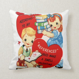 Throw Pillow Valentine's Day