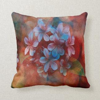 Throw Pillow - Watercolor Pulmaria - Multi