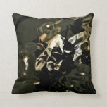 Throw Pillow with Abstract Reflection