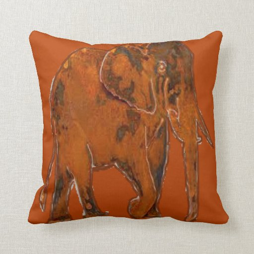 Pillow With Animal : Throw pillow with an animal design Zazzle