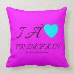 i  [Love heart]   princeton &  roc royal i  [Love heart]   princeton  Throw Pillows