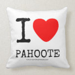 i [Love heart]  pahoote i [Love heart]  pahoote Throw Pillows