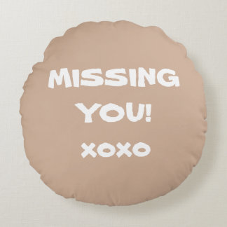 "Throw Pillows Cushions cool ""MISSING YOU"" Words!"