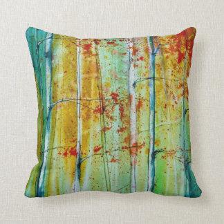 Throw Pillows - Fall Decor - Birch Trees